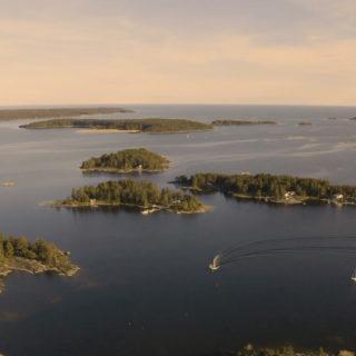 Dronevinkel av Hammarö