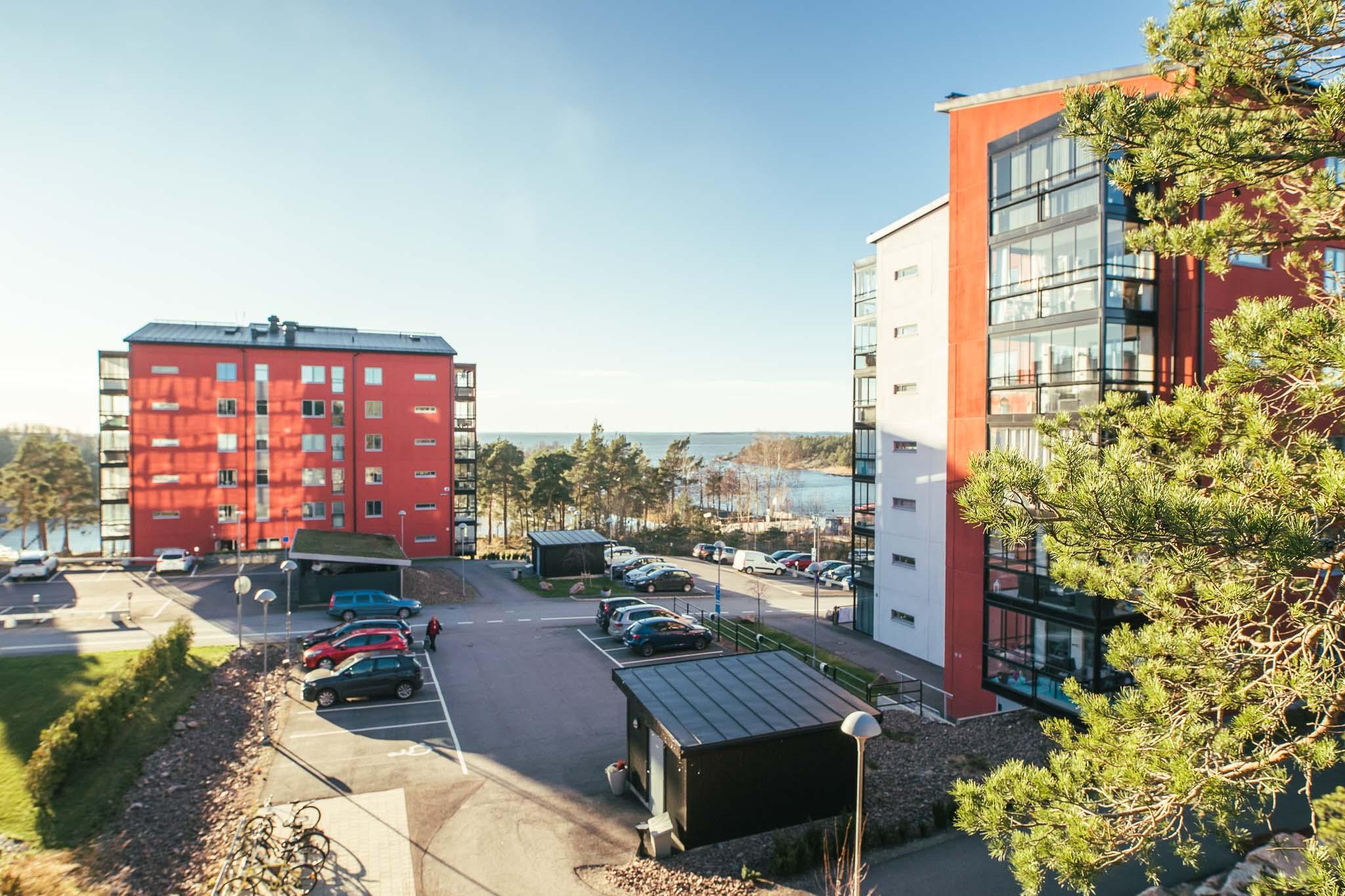 Bild på området Lillängshamnen